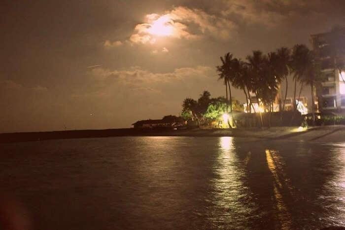 evening in maldives
