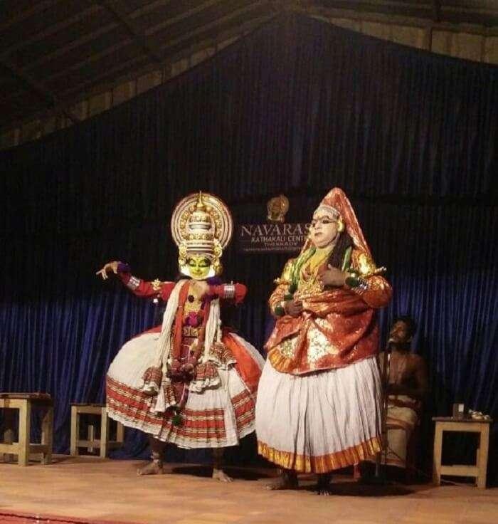 kathakali dance performance kerala