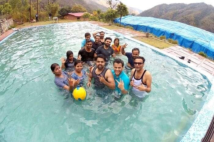 making new friends in rishikesh