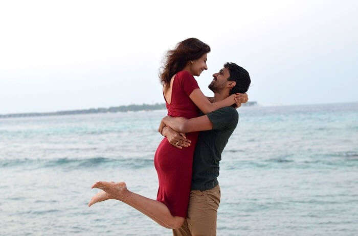 hemant and his wife in maldives
