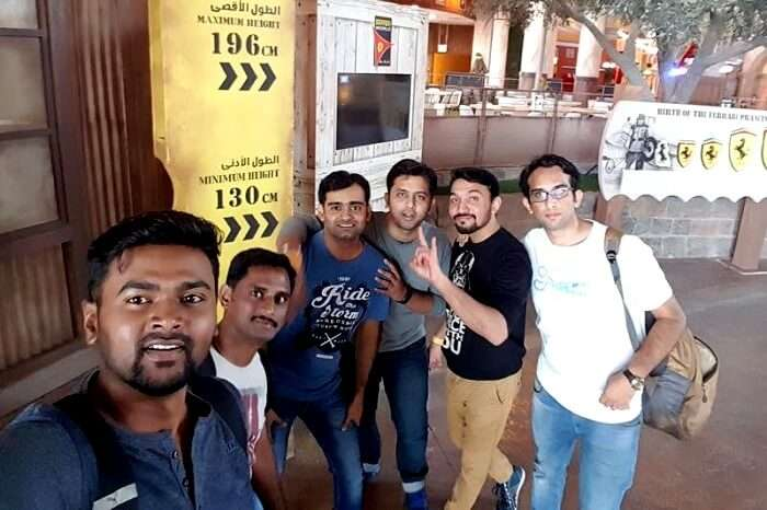 Dubai trip with friends