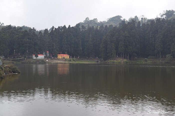 At the Mirik Lake