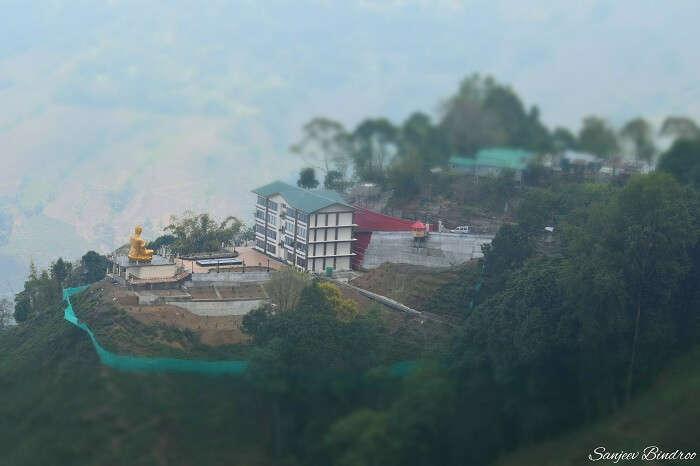 Rope way in Darjeeling