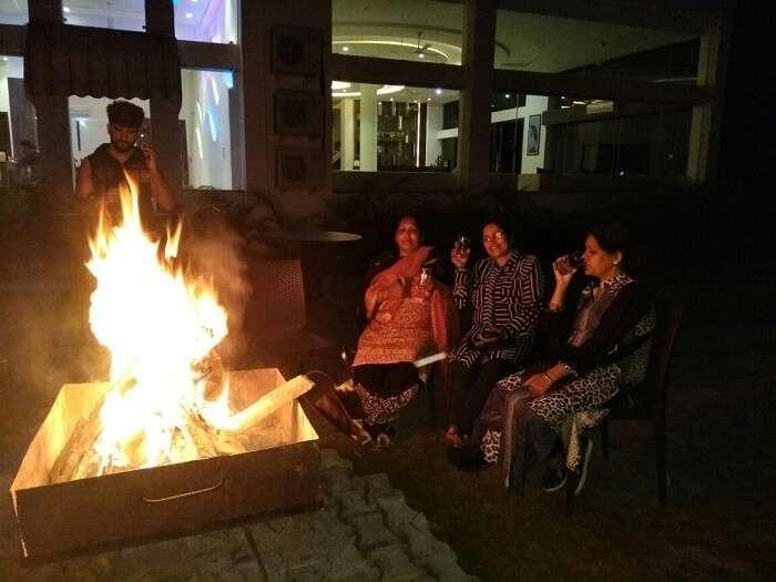 fun with bonfire