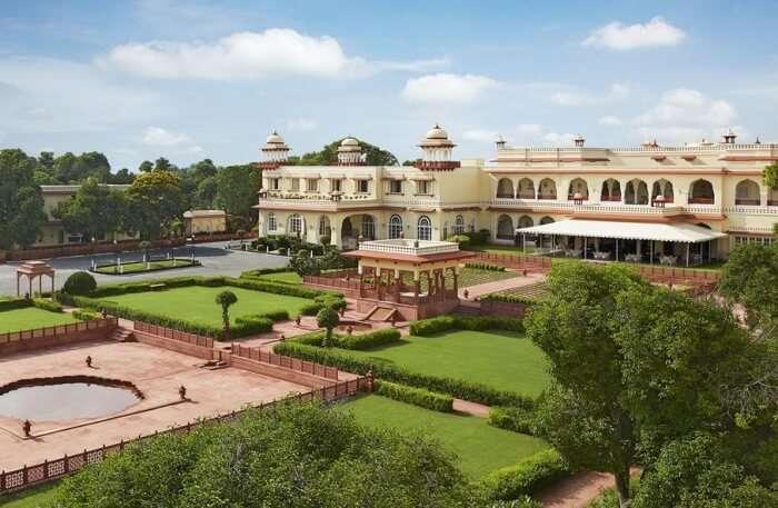 Taj Jai Mahal Palace View