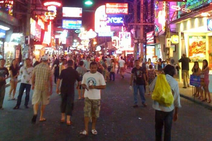 Walking Street of South Pattaya