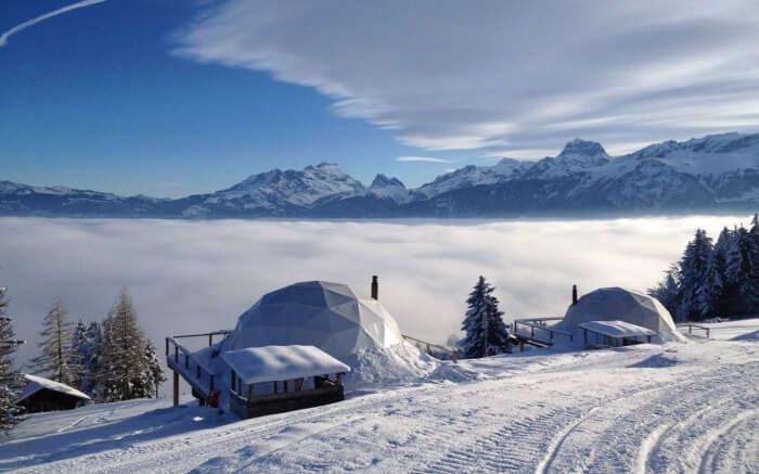 White Pod in Switzerland