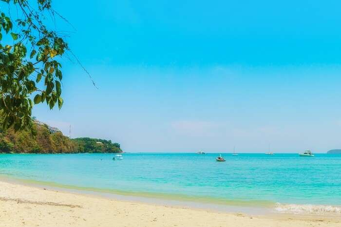 Panoramic shot of the Ao Yon Beach in Phuket