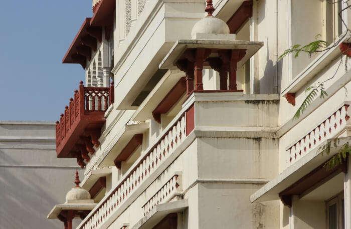 Palace Balcony view