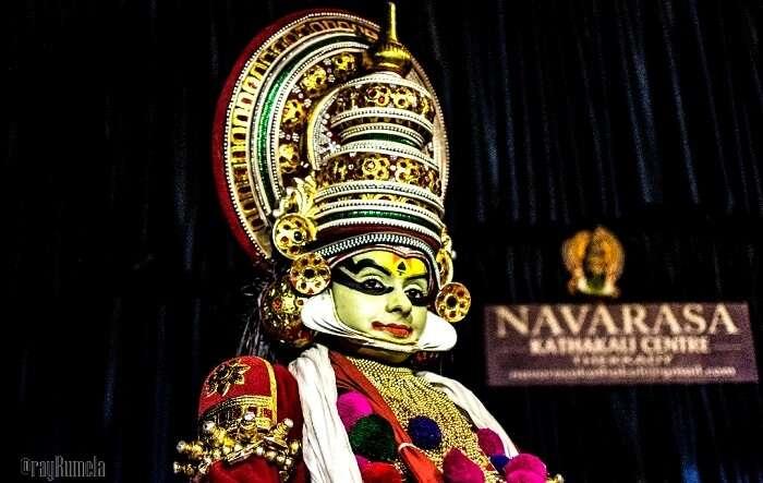 Kathakali performance in Kerala