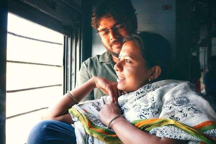 gaurav and devpriya on a trip to jaisalmer