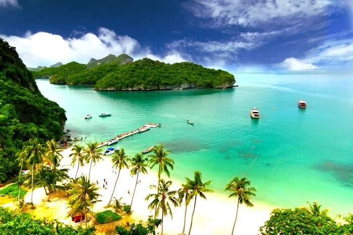 calm beaches of Koh Samui, Thailand