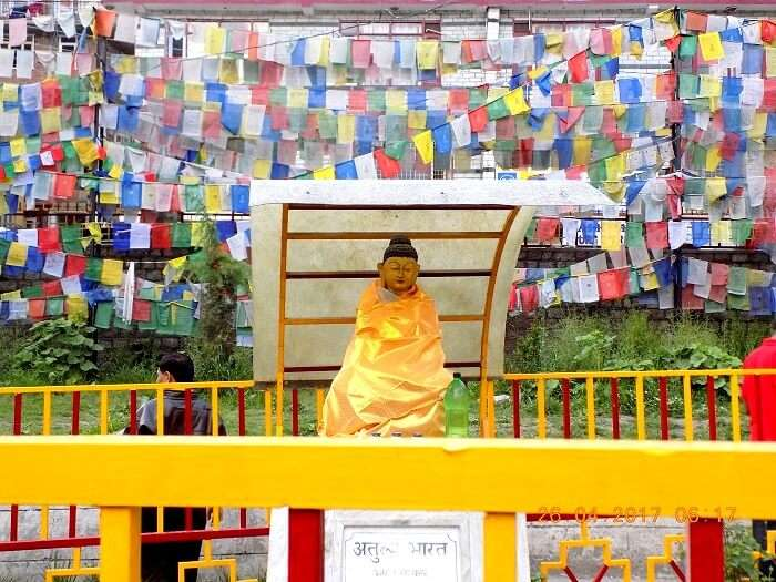 buddhist shrine in himachal