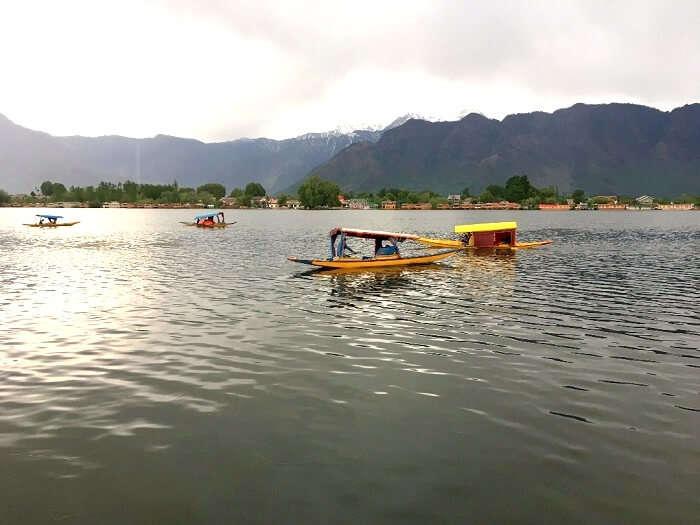 lakes in srinagar