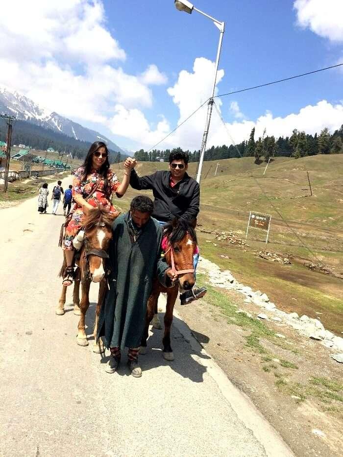 horseback ride in gulmarg