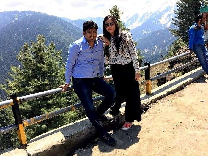 romantic trip to kashmir