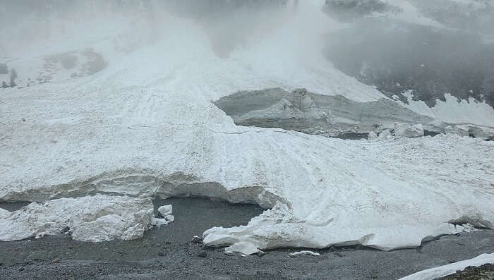 extreme weather in sonmarg