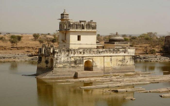 Rani Padmini Palace in Chittorgarh