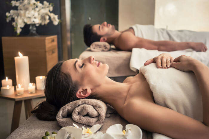 Treat yourself to some couples' massage sessions