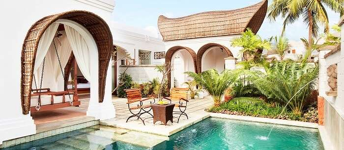 vivanta by taj bekal with pool in Kerala
