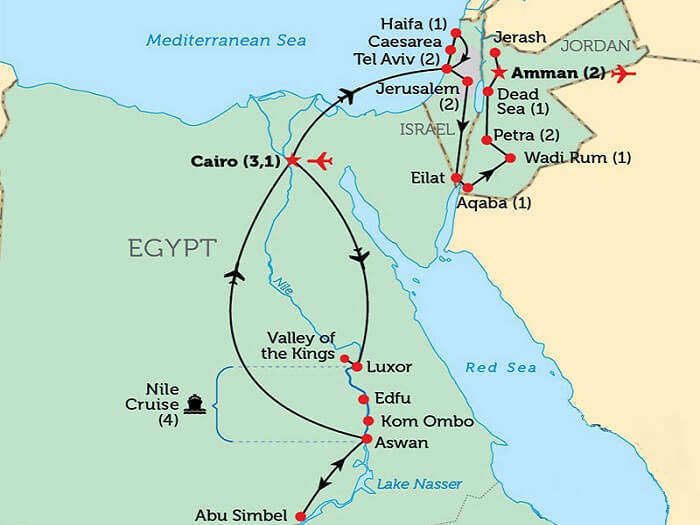 6 Jordan Tours Trips To Middle East S Easy Going Places