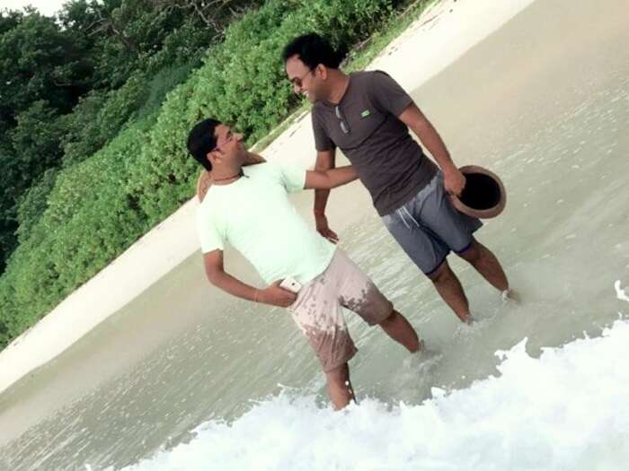 friends vacation to andaman