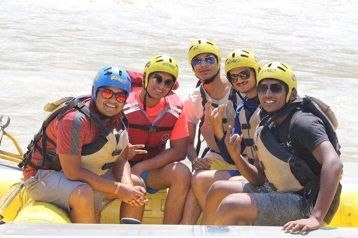 rafting in manali