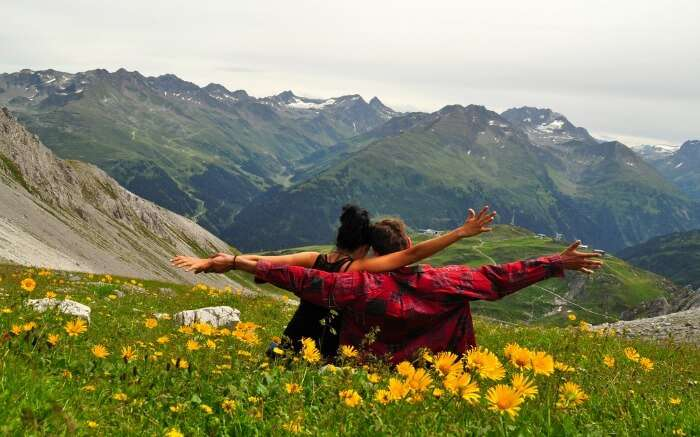 A couple in Austria