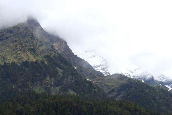 hills near solang