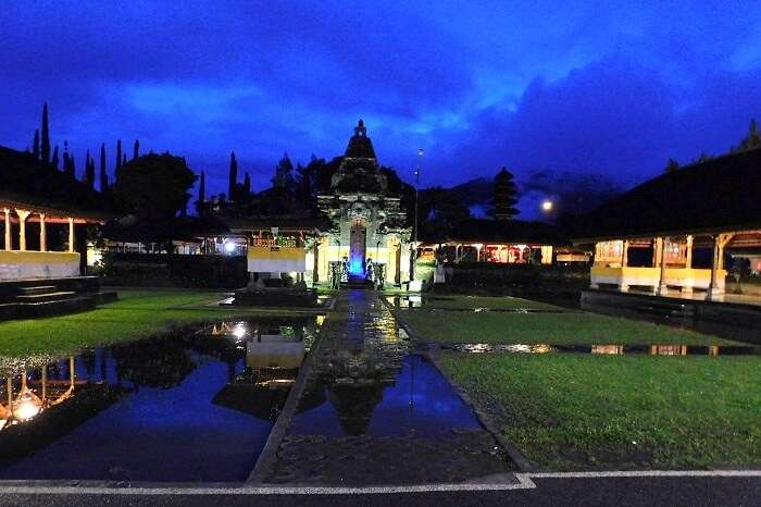 temple gardens in Bali