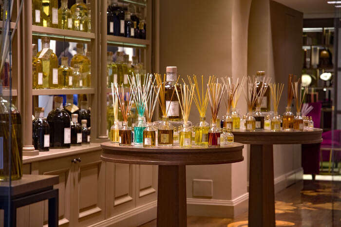 Find your own fragrance at a bespoke perfume store