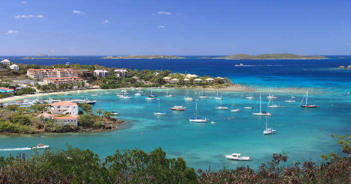 Honeymoon in US Virgin Island