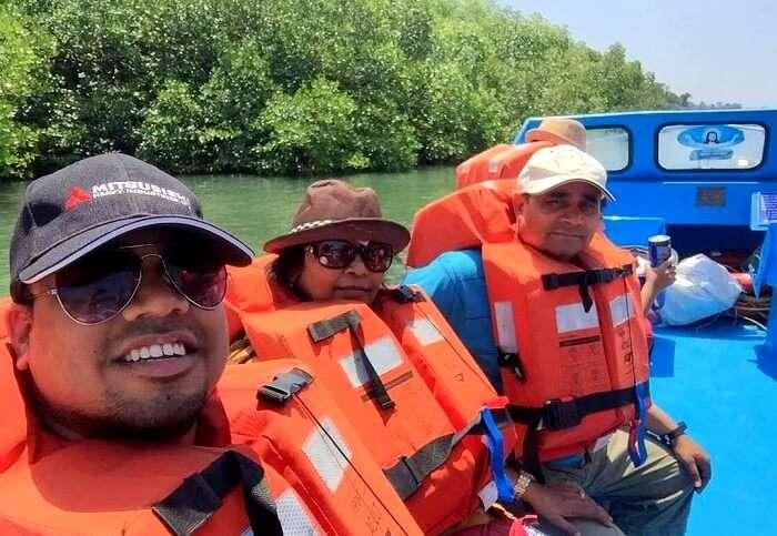 boat cruise in andaman