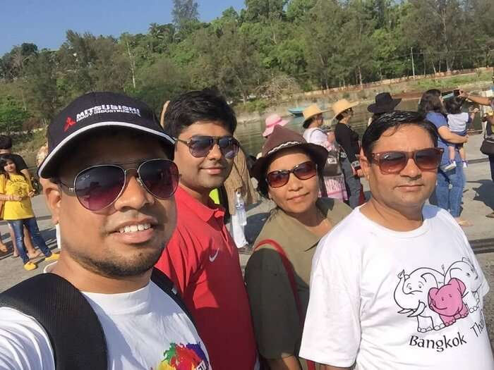 family time at havelock island