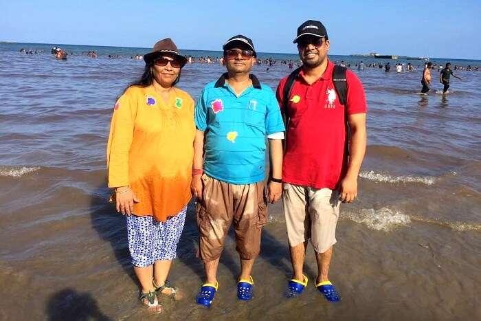 sightseeing at radhanagar beach