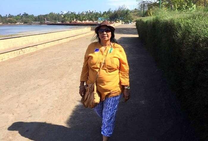 outing at havelock island