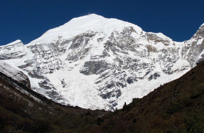 Jomolhari Trek View