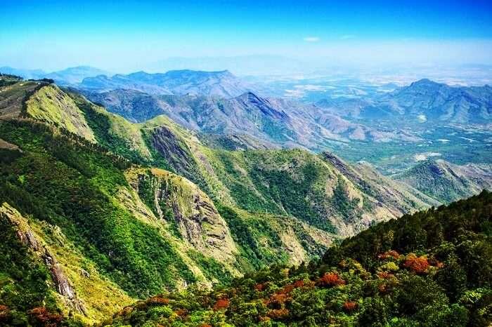 mountains in Kodaikanal