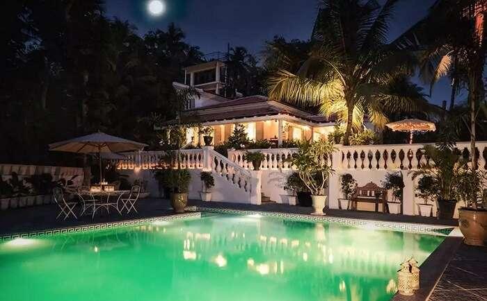 luxury villas in south goa