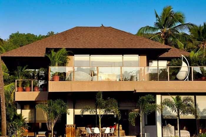 modern luxury villas in goa