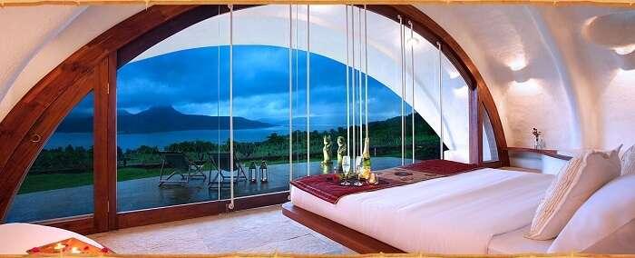 amanzi resort view