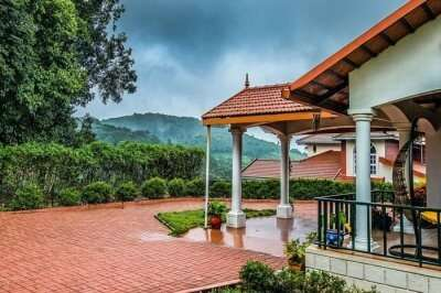 A homestay in the misty western ghats