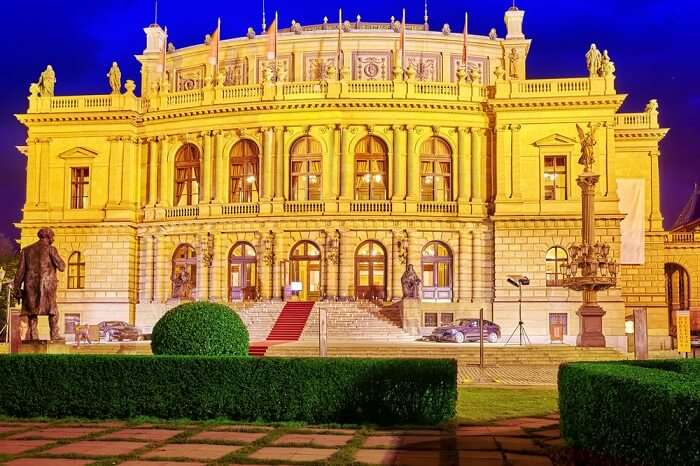 Building of the National Opera of Prague