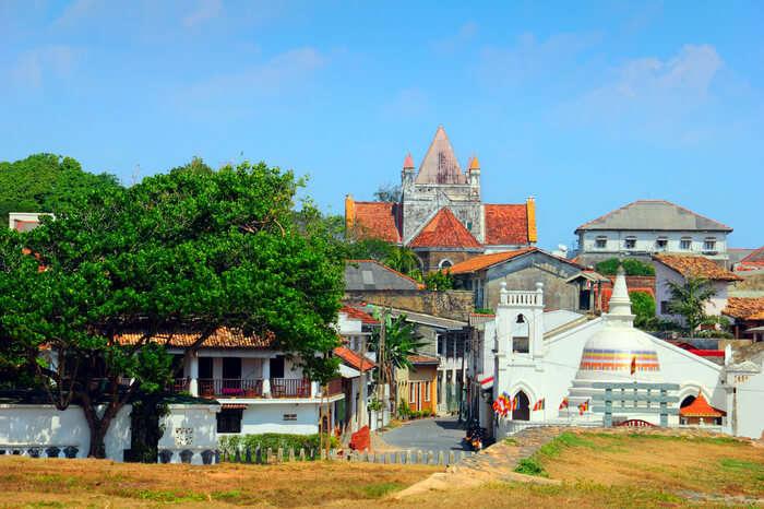 Portuguese architecture of Galle city
