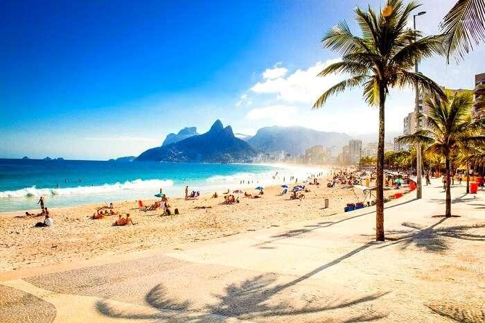 ipanema beach in Brazil