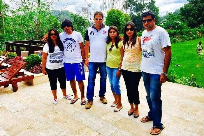 Family trip to Sri Lanka