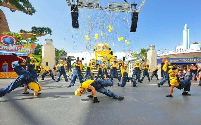 Despicable Me event in Sentosa