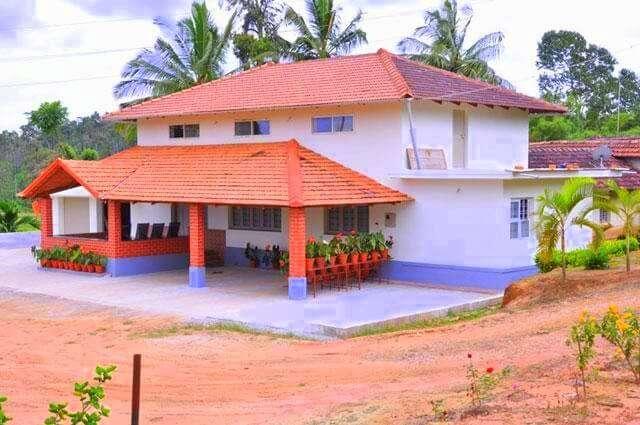 a small Karnataka traditional style homestay