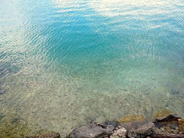 clear blue lakes of austria