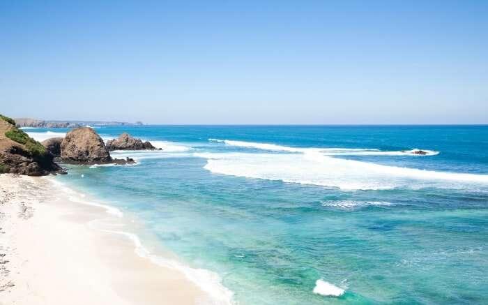 Kuta Beach in Indonesia